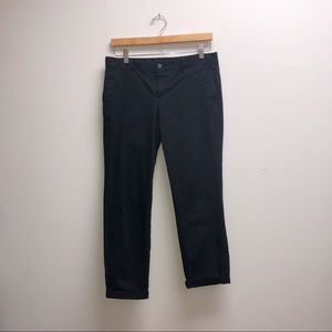Gap Khakis Capri Pants Navy 2